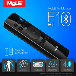 Fly Air Mouse bezprzewodowa QWERTY Klawiatura Pilot MeLE F10 BT Bluetooth Gyro IR Learning dla Android TV Box, Notebook, PC, MAC