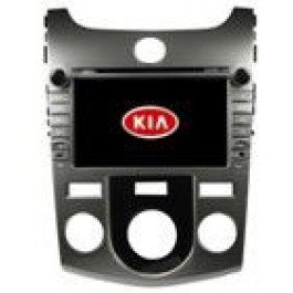 Radio samochodowe dotykowe z GPS Bluetooth USB SD DVB-T ZDX-8046 do KIA CERATO/FORTE (MT) 2008-2012