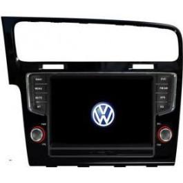 Radio samochodowe dotykowe z GPS Bluetooth USB SD DVB-T ZDX-8012 do Volkswagen Golf 7 2013