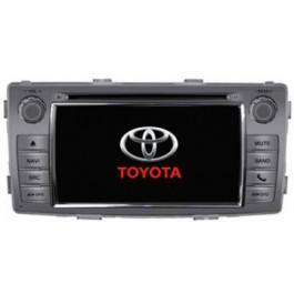 Radio samochodowe dotykowe z GPS Bluetooth USB SD DVB-T ZDX-6230 do TOYOTA Hilux 2012