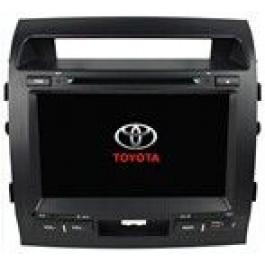 Radio samochodowe dotykowe z GPS Bluetooth USB SD DVB-T ZDX-9006 do TOYOTA LAND CRUISER 2008-2010