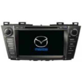 Radio samochodowe dotykowe z GPS Bluetooth USB SD DVB-T ZDX-8005 do MAZDA MAZDA 5 2009-2012 PREMACY 2009-2012