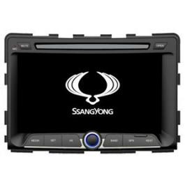 Radio samochodowe dotykowe z GPS Bluetooth USB SD DVB-T ZDX-7070 do SsangYong RODIUS/REXTON 2014