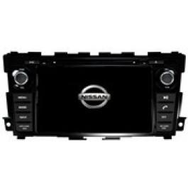 Radio samochodowe dotykowe z GPS Bluetooth USB SD DVB-T ZDX-8061 do NISSAN Tenna 2013-