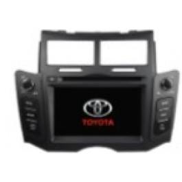 Radio samochodowe dotykowe z GPS Bluetooth USB SD DVB-T ZDX-6221 do TOYOTA YARIS 2005-2011