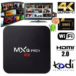Android TV Box VenBOX iTV-MXQ Pro, Lollipop 5.1, Quad Core Amlogic S905, HDMI2.0, KODI, H.265