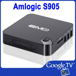 Android Smart TV Box iTV-EM95, Quad Core AmLogic S905, 4K Media Player, Google TV, KODI