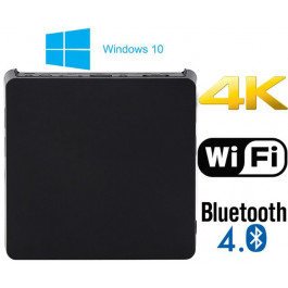 EW05 Wintel TV Box Mini PC z Windows 10 Z8300 HD 4K2K VGA