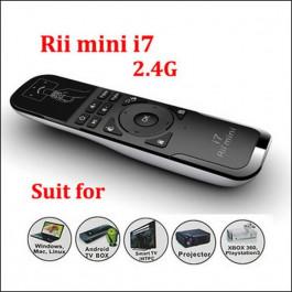 Klawiatura Bezprzewodowa Fly Air Mouse Riitek I7 RT-MWK07 2.4G, 2.4G, USB