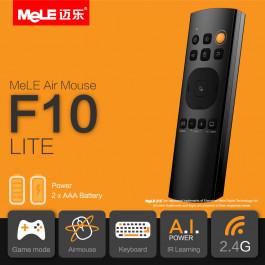 3-in-1 Klawiatura Bezprzewodowa-Smart Air Mouse-Pilot IR Mele F10 Lite, Gyro, 2.4G, learning IR