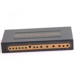 HDMI wbudowane audio oraz Extractor