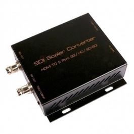 Konwerter HDMI na SDI Scaler z funkcją rozszerzania transmisji, wejście HDMI, 2 wyjścia SDI