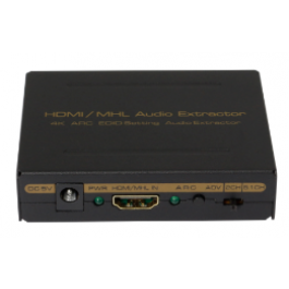 Version 1.4    HDMI to HDMI + Audio ( SPDIF+ L/R)  Audio Extractor (ARC&4K)