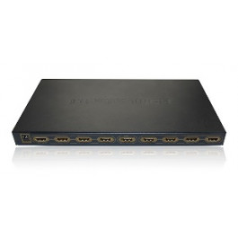HDMI splitter 1x8 Metal House