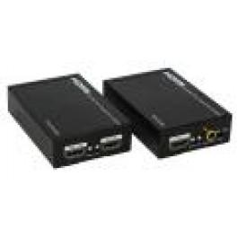 Przedłużacz HDMI po jednemu kablu UTP 50m z systemem IR