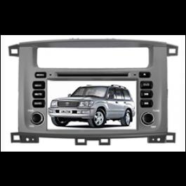 Multimedialny dotykowy system DVD ST-7084C do samochodow Toyota Land Cruiser 100
