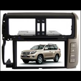 Multimedialny dotykowy system DVD ST-8205C do samochodow prado 2012(silver and grey)