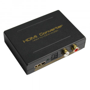 Konwerter HDMI do HDMI + audio Toslink(SPDiF) RCA