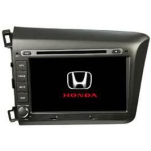 Radio samochodowe dotykowe z GPS Bluetooth USB SD DVB-T ZDX-8036 do HONDA Civic 2012