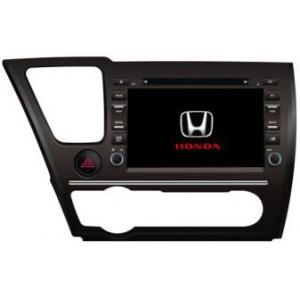 Radio samochodowe dotykowe z GPS Bluetooth USB SD DVB-T ZDX-8040 do HONDA Civic Saloon 2014
