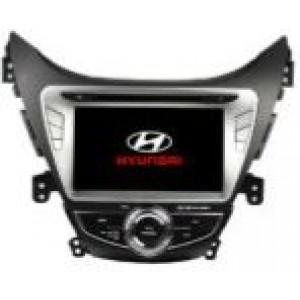Radio samochodowe dotykowe z GPS Bluetooth USB SD DVB-T ZDX-8054 do HYUNDAI Elantra 2014