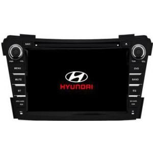 Radio samochodowe dotykowe z GPS Bluetooth USB SD DVB-T ZDX-7029 do HYUNDAI I40 2011-2013