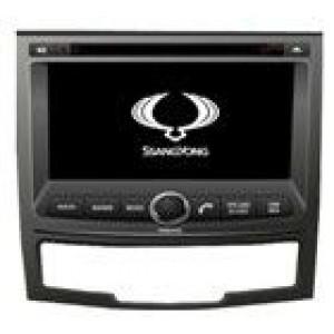 Radio samochodowe dotykowe z GPS Bluetooth USB SD DVB-T ZDX-7067 do SsangYong Korando 2010-2013