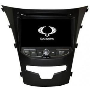 Radio samochodowe dotykowe z GPS Bluetooth USB SD DVB-T ZDX-8067 do SsangYong Korando 2014