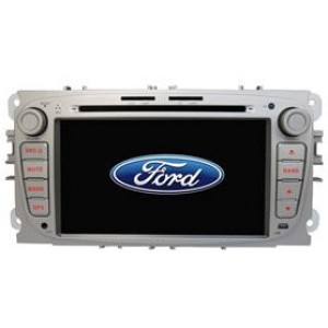 Radio samochodowe dotykowe z GPS Bluetooth USB SD DVB-T ZDX-7017 do FORD Mondeo (2007-2010) Tourneo Connect (2010) Transit Connect (2010-) S-max (2008-2010)