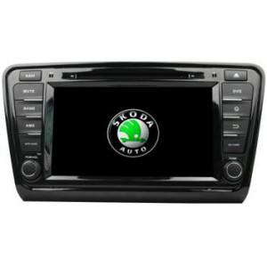 Radio samochodowe dotykowe z GPS Bluetooth USB SD DVB-T ZDX-8035 do SKODA OCTAVIA 2014
