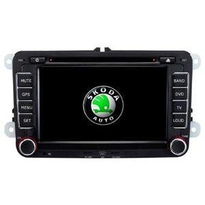 Radio samochodowe dotykowe z GPS Bluetooth USB SD DVB-T ZDX-7032 do SKODA OCTAVIA II 2005-2010 OCTAVIA III 2005-2010 FABIA 2005-2010 SUPERB 2005-2009