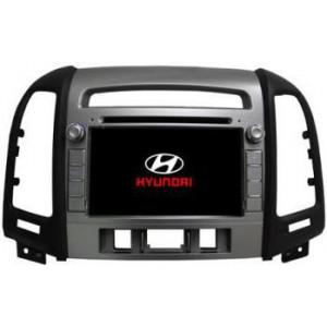 Radio samochodowe dotykowe z GPS Bluetooth USB SD DVB-T ZDX-7027 do HYUNDAI SANTA FE 2012