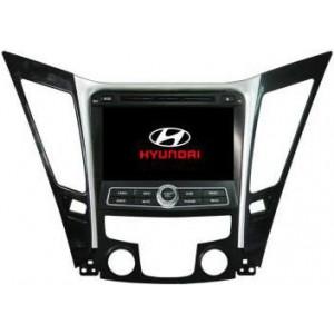 Radio samochodowe dotykowe z GPS Bluetooth USB SD DVB-T ZDX-8027 do HYUNDAI SONATA 2011-2013