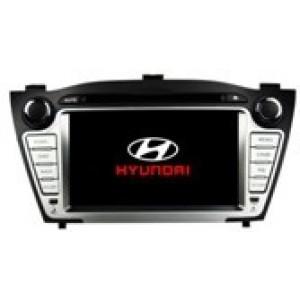 Radio samochodowe dotykowe z GPS Bluetooth USB SD DVB-T ZDX-7022 do HYUNDAI TUCSON / IX35 2009-2012