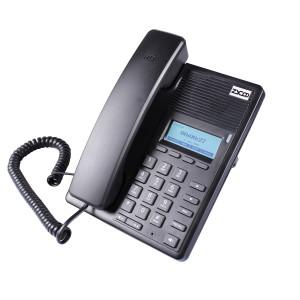 Telefon ZYCOO D30P, PoE, 2xSIP, Router, LCD, HD Voice