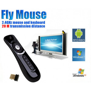 Fly Air Mouse+Pilot IR T2 AF100, Gyro, 2.4G, USB do Smart TV