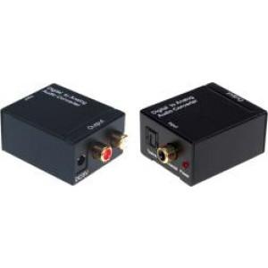 Cyfrowo-analogowy konwerter audio HDA-2M S/PDIF TOSlink do RCA