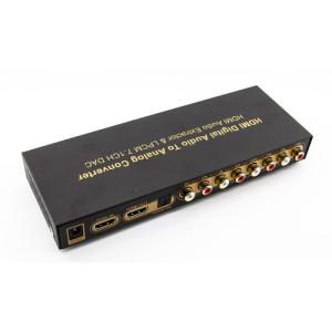 Konwerter HDMI na HDMI dźwięku cyfrowego na analogowy LPCM 7.1-kanałowy DAC