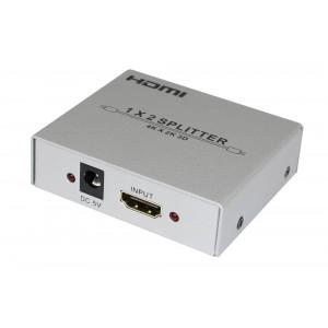 Splitter HDMI 1.4 Przełącznik Wzmacniacz 1 w 2 HDMI z 1080P HD 3D Audio HDCP HDV-912