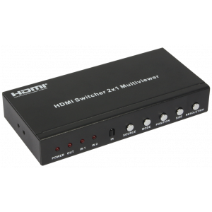 HDMI Switcher 2X1 multi-viewer Full HD Audio HDCP HDV-821PR