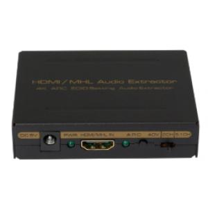 Version 1.4 HDMI to HDMI + Audio ( SPDIF+ L/R) Audio Extractor (ARC&4K)