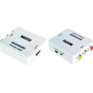 Mini AV na HDMI 1080P konwerter