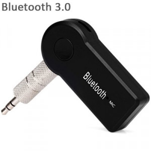 Przenośny Bluetooth A2DP odbiornik HiFi Stereo audio z mikrofonem oraz gniazdkiem 3,5 mm