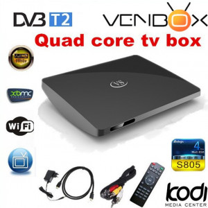 Android TV Box VenBOX iTV-177 Quad-Core Amlogic S805, 1GB RAM, 8GB ROM z tunerem DVB-T2