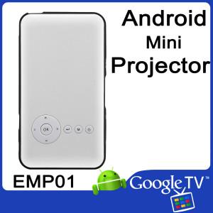 Przenośny mini rzutnik Smart DLP projektor Android 4.4 VenBOX EMP01, 1000 LUMEN, WiFi, wyjście HDMI 1080p, audio