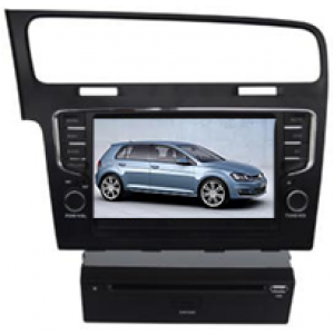 Multimedialny dotykowy system DVD ST-7043C do samochodow VW golf 7