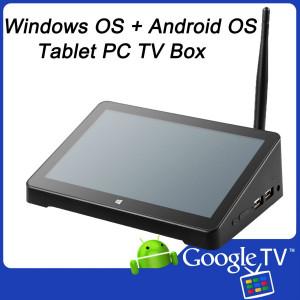Dual OS Mini PC/TV Box/Tablet PC z 7-calowym ekranem dotykowym EW02